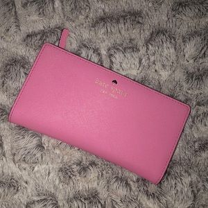 Kate Spade Bubblegum Pink Wallet